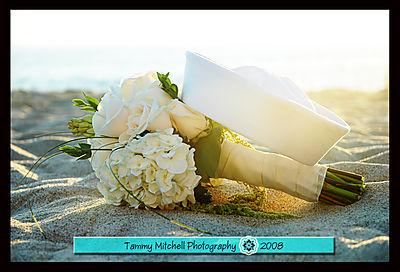 Flowers on beach web