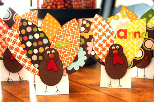 Turkey placecards