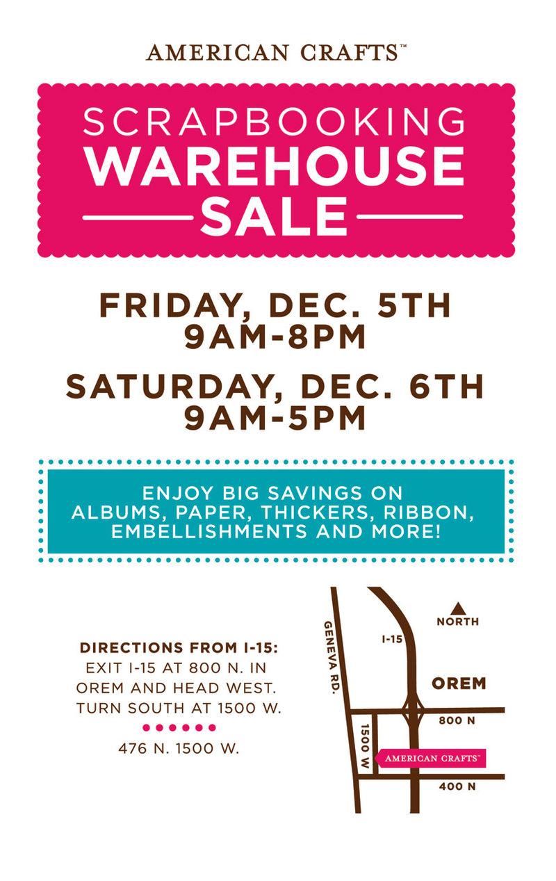 AC Warehouse sale