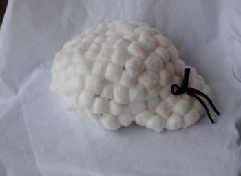 Cotton wig