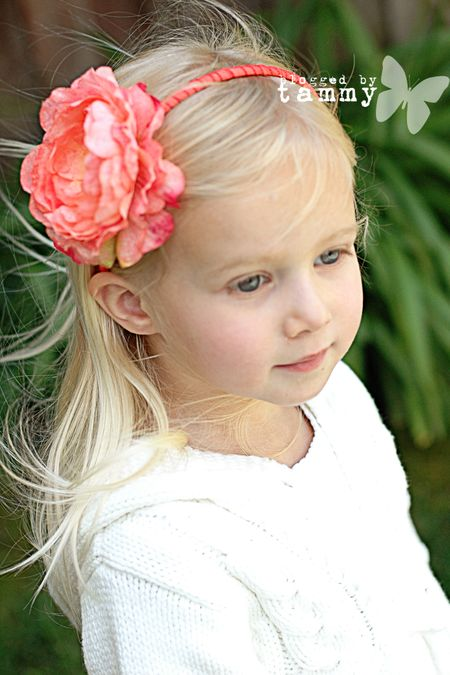 Ash peach headband web 39