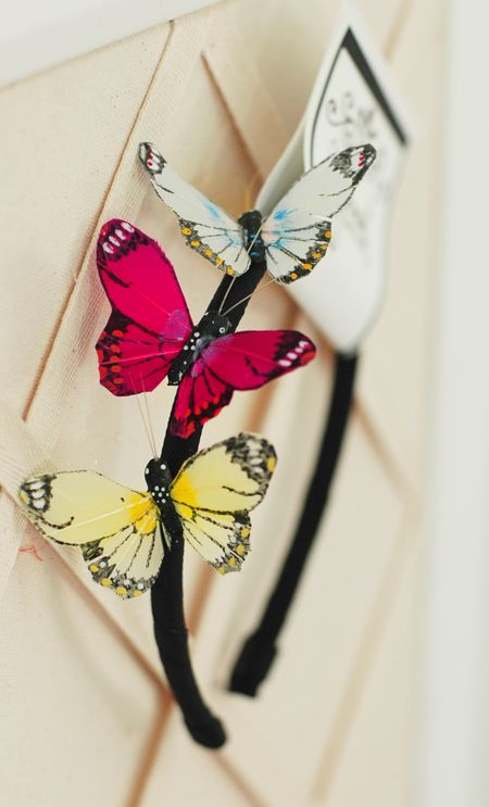Etsy butterfly headband